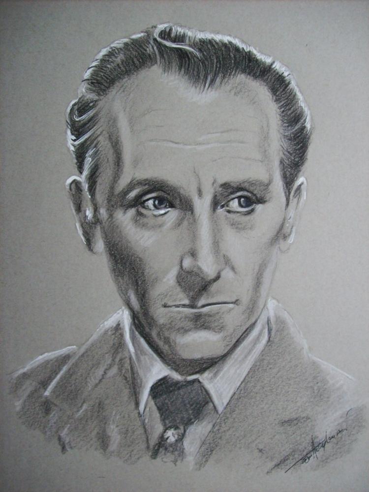 Peter Cushing por Tom-Heyburn